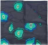 Giorgio Armani jacquard applique scarf
