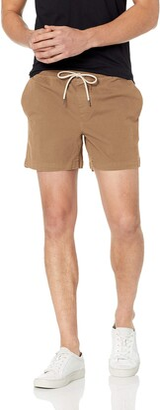 "Goodthreads Men's Slim-Fit 5"" Inseam Pull-On Comfort Stretch Canvas Short"
