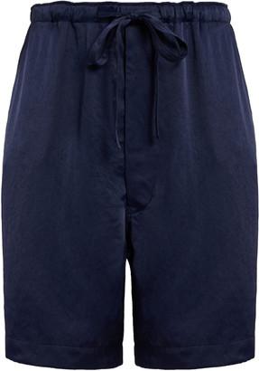 Chimala Double-Satin Drawstring Shorts