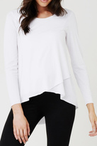 Ripe Maternity Raw Edge Tee