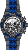 Invicta Men's Bolt Blue Steel Bracelet & Case Quartz Dial Watch 25766