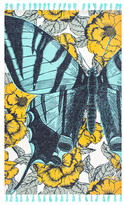 Thomas Paul Butterfly Tassel Cotton Rug