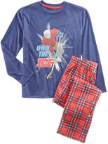 Max & Olivia 2-Pc. Own The Ice Pajama Set, Little Boys (2-7) & Big Boys (8-20), Created for Macy's