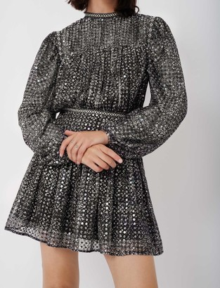Maje Short sequin dress