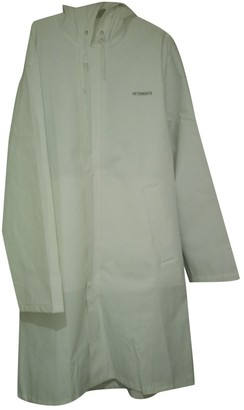 Vetements White Polyester Coats