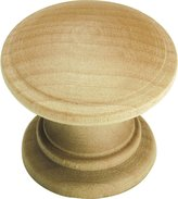 Hickory Hardware Belwith P685-UW 1.25 Inch Knob Unfinished Wood Knob