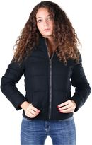 Invicta Woman Hooded Padded Bomber Black
