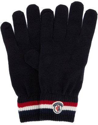 Moncler Logo Patch Gloves