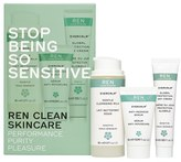 REN Stop Being So Sensitive Regime Kit for Sensitive Skin
