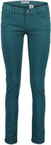 Couture Miss Kitty Women's Denim Pants and Jeans Teal - Teal Distressed Skinny Jeans - Juniors