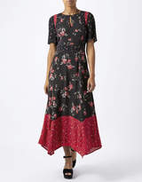 Monsoon Bryony Print Midi Dress