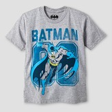 Batman Boys' Running Graphic T-Shirt - Athletic Heather