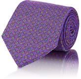 Drakes Drake's Men's Square-Print Silk Necktie