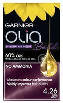 Garnier Olia Bold 4.26 Rose Violet Permanent Hair Dye, Pack of 3