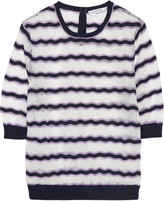 Carven Jacquard-knit top