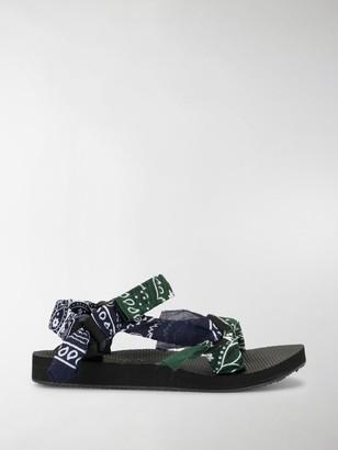 Arizona Love Trekky bandana flat sandals