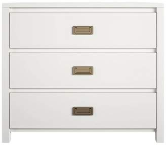 Little Seeds 3 Drawer Monarch Hill Haven Kids Nightstand White