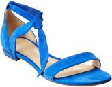 Alexandre Birman Atena 35 Suede Wedge Sandal