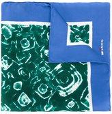 Kiton tie-dye pocket square