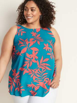 Old Navy Plus-Size High-Neck Sleeveless Top