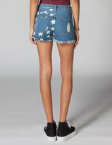 LIRA You're A Star Womens Denim Cutoff Shorts