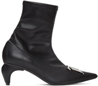 Misbhv Black Buckle Boots