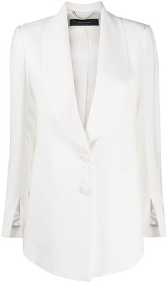 FEDERICA TOSI Single Breasted Tuxedo Blazer