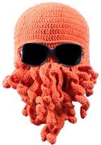 Dora Bridal Tentacle Octopus Cthulhu Knit Beanie Hat Fisher Cap Wind Ski Mask
