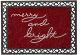 Pottery Barn Merry and Bright Doormat