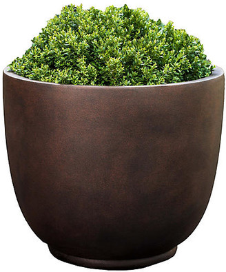 Campania International Danilo Outdoor Planter - Rust 22""