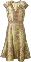 Etro floral print flare dress - women - Silk/Polyester/Acetate/Viscose - 42