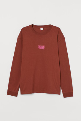 H&M Printed Jersey Shirt