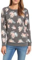Women's Caslon Floral Print Sweatshirt