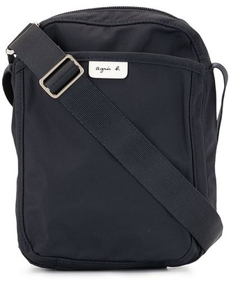 agnès b. Logo Patch Messenger Bag