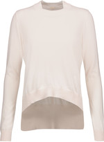 ADAM by Adam Lippes Cotton and cashmere-blend sweater