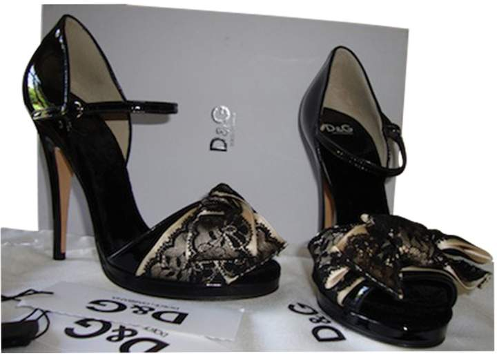 Dolce & Gabbana Black Patent leather Heels