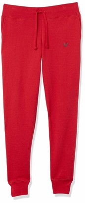 True Religion Women's Tall Size High Waisted Slim fit Jogger Sweapant