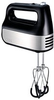 Krups GN4928 Quiet 10 Speed Hand Mixer with Turbo Boost Stainless Steel Accessories and Count Down Timer, Black by