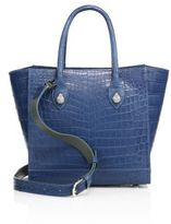 Ethan K Bal Harbour Crocodile Tote