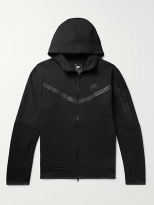 Nike Sportswear Taped Cotton-Blend Tech Fleece Zip-Up Hoodie