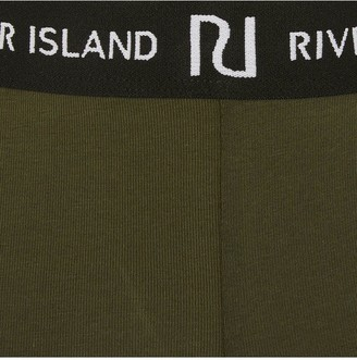 River Island GirlsWaistband Legging -Khaki