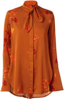 Ellery Ride Lonesome Tie Neck Blouse