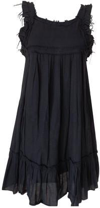 Laurence Dolige Black Cotton Dress for Women