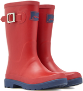 Joules Red Buckle Rain Boot - Boys