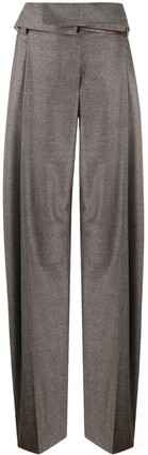Stella McCartney Paper-Bag Waist Pleated Trousers