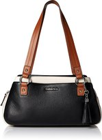 Calvin Klein Pebble Top Handle Satchel
