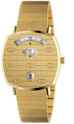 Gucci Grip Watch in Gold | FWRD