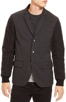 Kenneth Cole New York Kenneth Cole Reaction Nylon-Sleeve Three-Button Blazer (Medium)