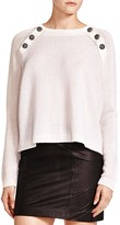 The Kooples Button-Detail Cashmere Sweater