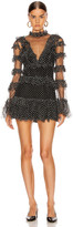 Alice McCall Tokyo Skies Mini Dress in Black | FWRD
